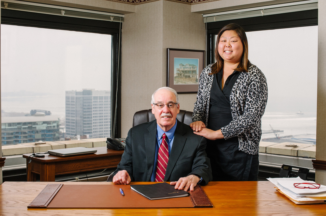 John B. Gibbons, Attorney at Law and Ellen Gibbons legal assistant and daughter